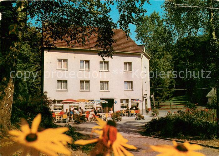 Postkarte Carte Postale 73641779 Hornhausen Hotel Pension
