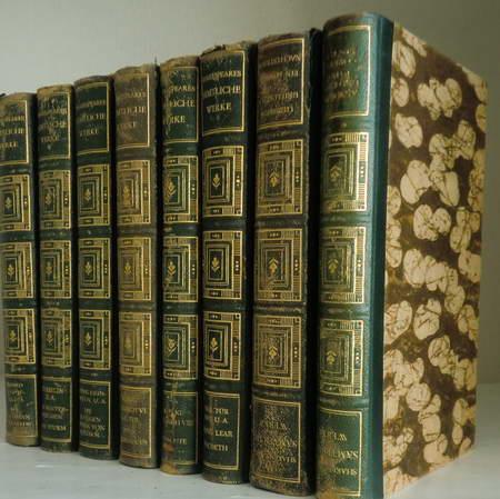 10 Bände Shakespeares sämtliche Werke: Shakespeares dramatische: Shakespeare, William /