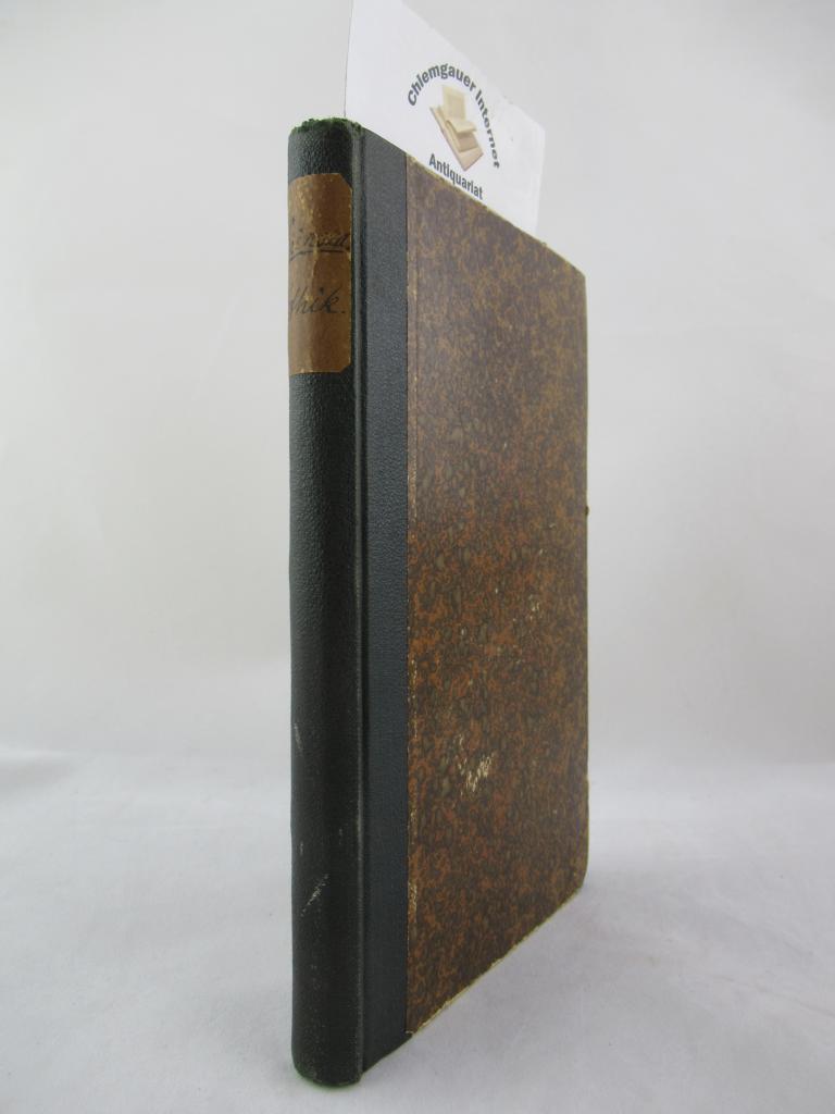 Benedict von Spinoza's Ethik. (Philosophische Bibliothek oder: Kirchmann, J. H.