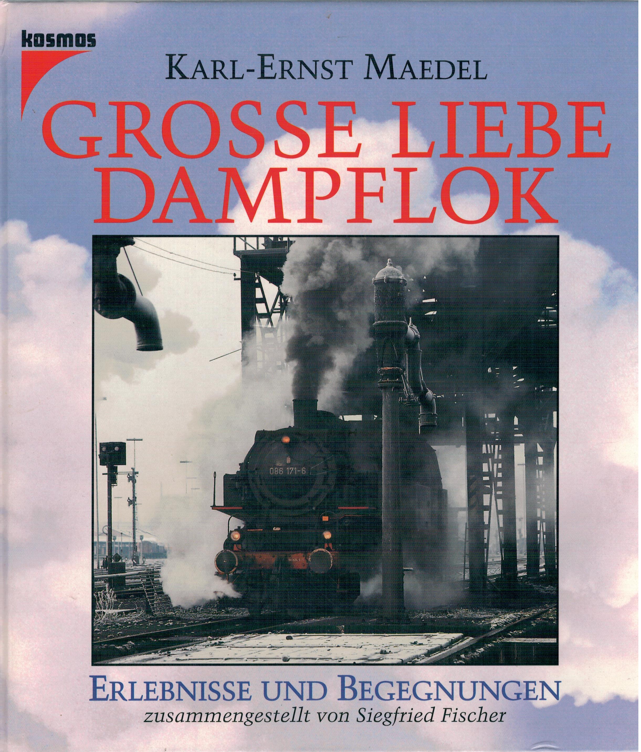 Grosse Liebe Dampflok. Erlebnisse und Begegnungen: Maedel, Karl-Ernst