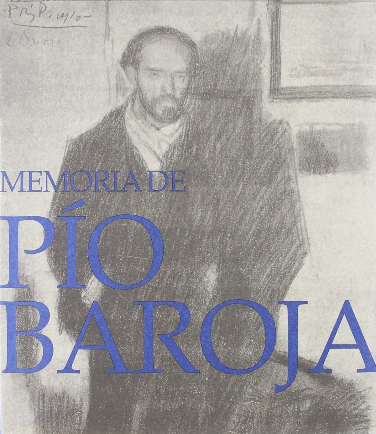 Memoria de pio baroja - Vv.Aa.