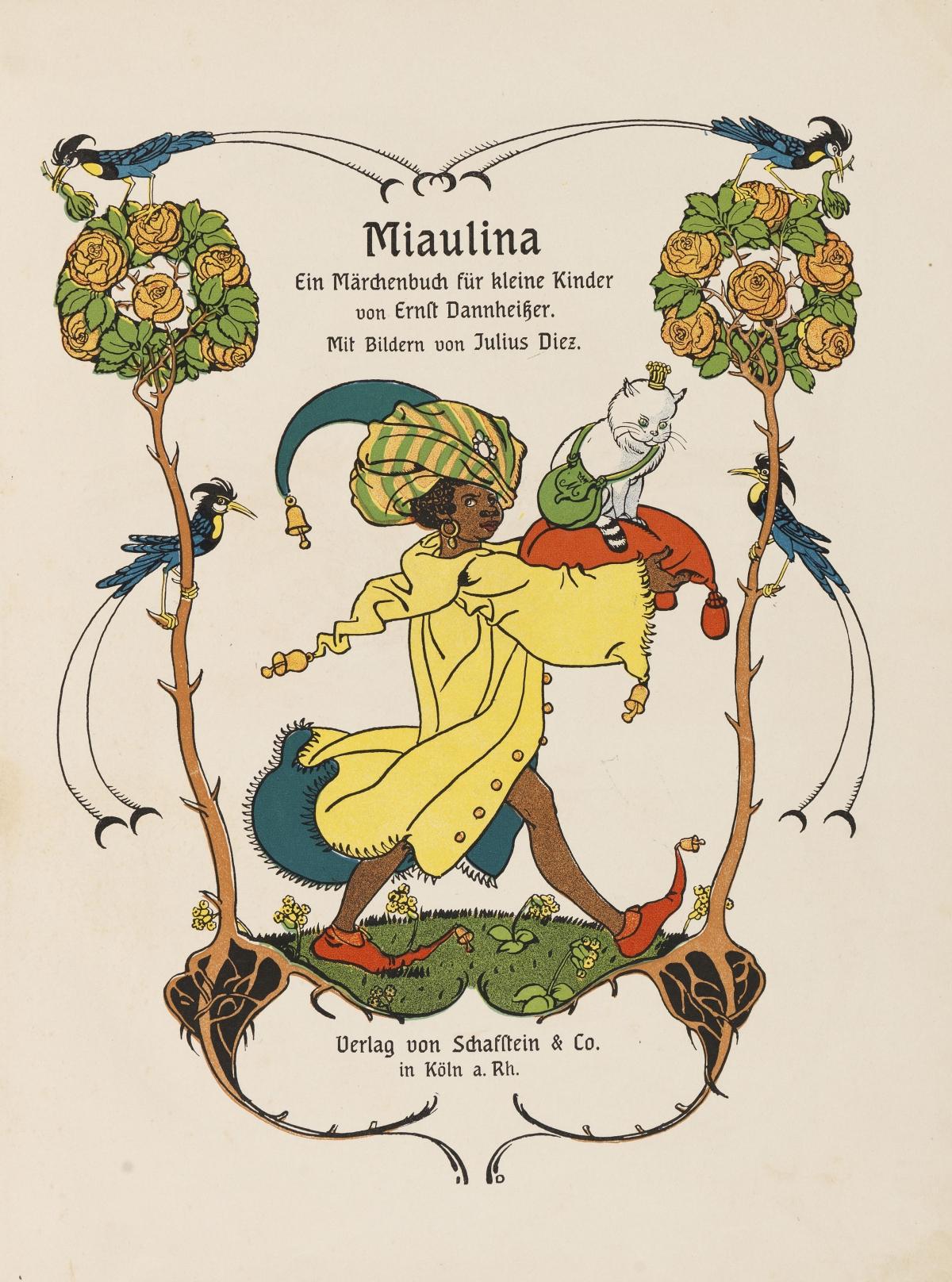 Miaulina. Ein Märchenbuch für kleine Kinder.: Dannheißer, Ernst,