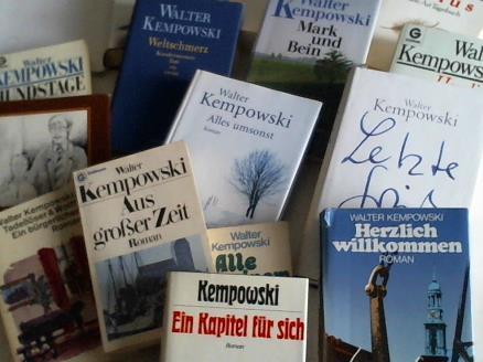 15 Bände: Kempowski, Walter