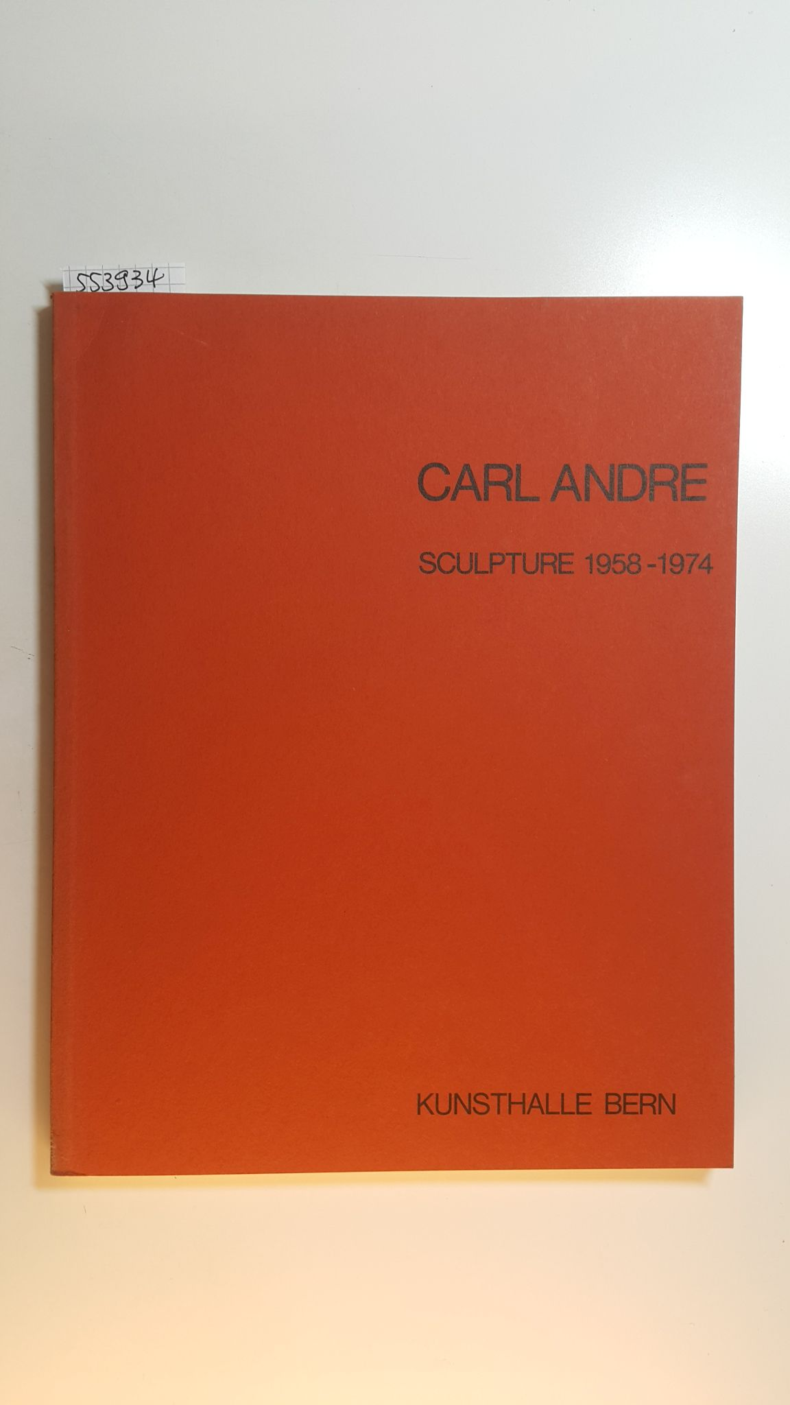 Carl Andre: Sculpture 1958 - 1974. Kunsthalle: Carl Andre