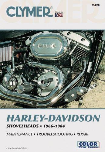 Clymer Harley-Davidson Shovelheads 1966-1984: Service, Repair, Maintenance - Wright, Ron