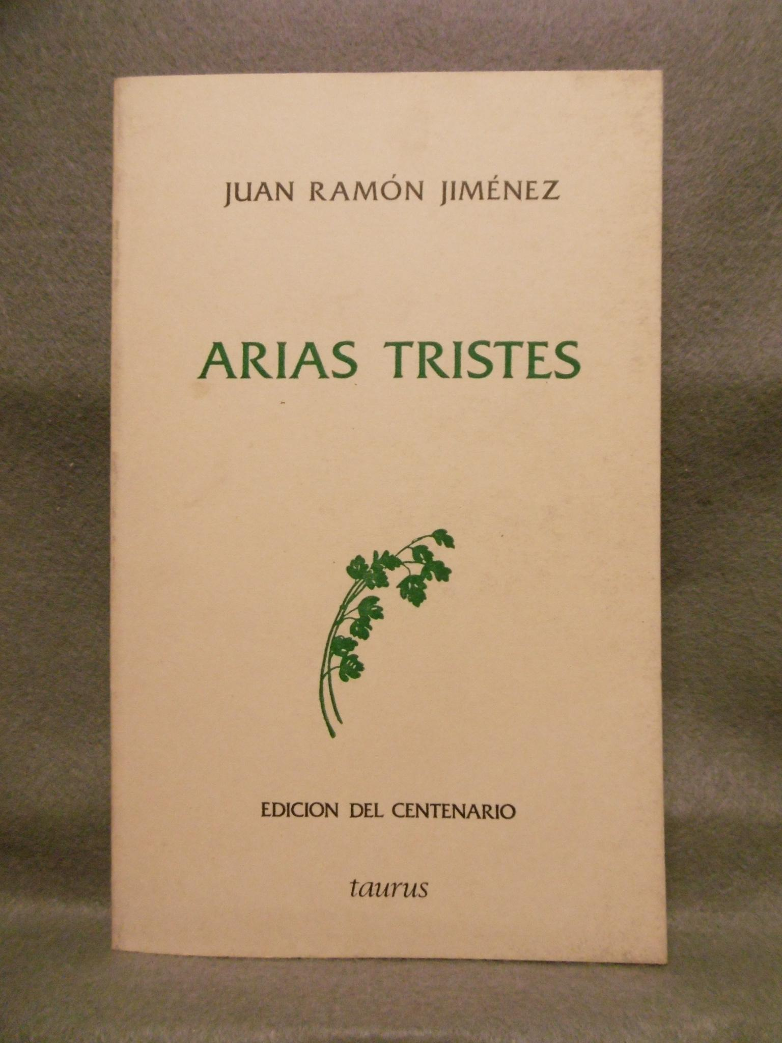 Arias Tristes Abebooks