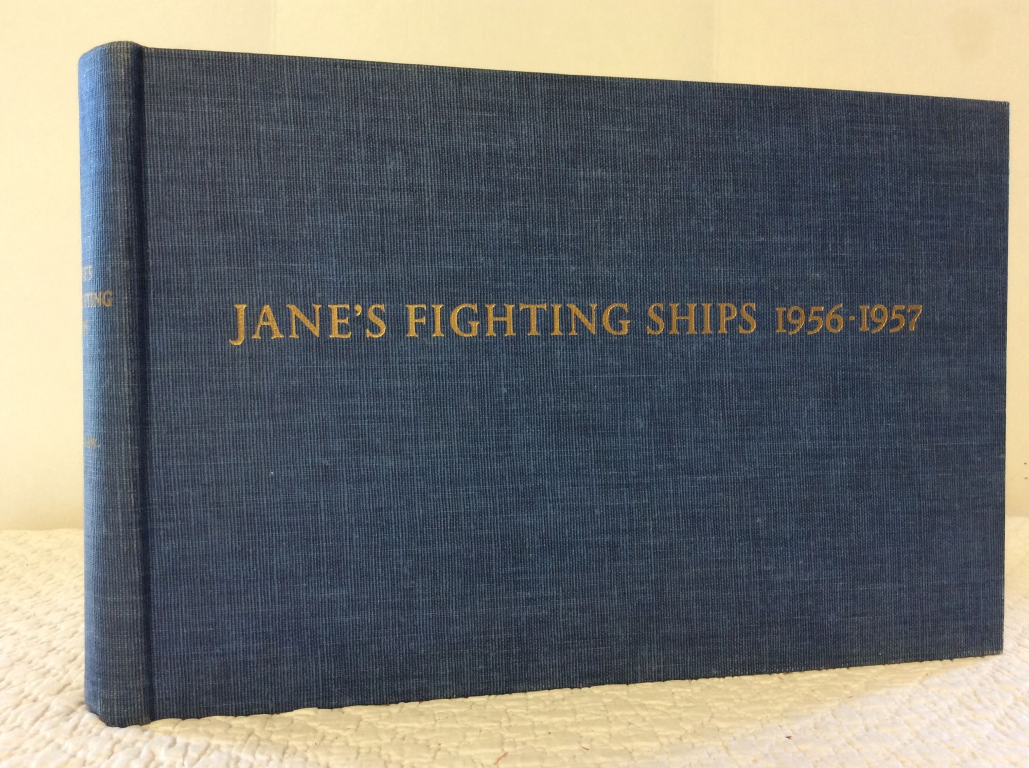 JANE'S FIGHTING SHIPS: 1956-1957: Raymond V. B.