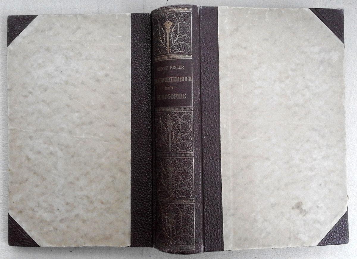 Handwörterbuch der Philosophie.: Dr. Rudolf Eisler
