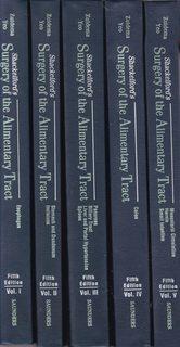 Surgery of the Alimentary Tract, 5-Volume Set - Zuidema MD, George D. [Editor]; Yeo MD FACS, Charles J. [Editor]; Orringer MD, Mark B. [Editor]; Heitmiller MD, Richard [Editor]; Dempsey MD, Daniel T. [Editor]; Turcotte MD, Jeremiah G. [Editor]; Pemberton MD, John H. [Editor]; Lillemoe MD, Keith [Editor];