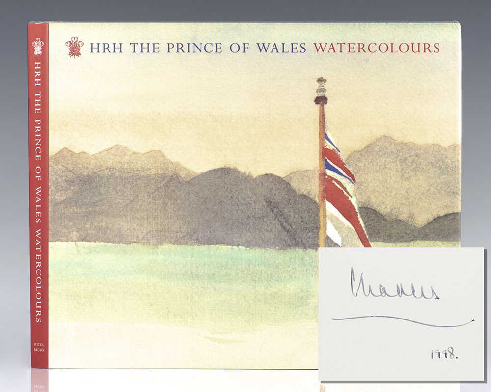 HRH The Prince of Wales Watercolours.: Prince Charles