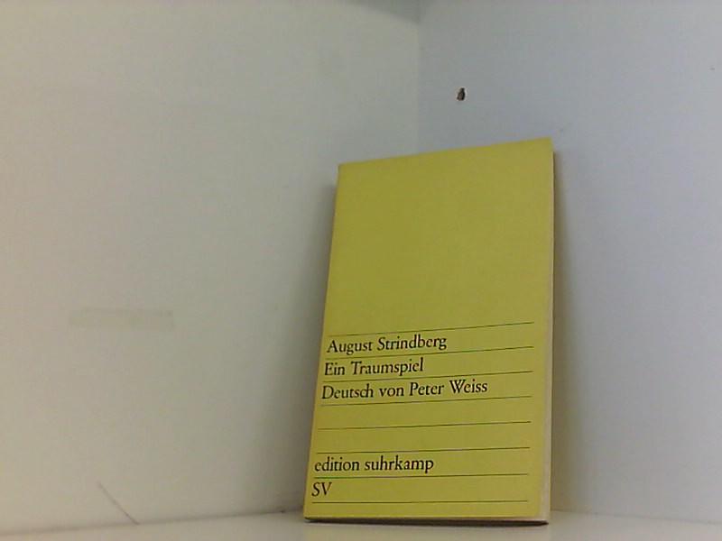 August Strindberg: Ein Traumspiel: Strindberg, August.: