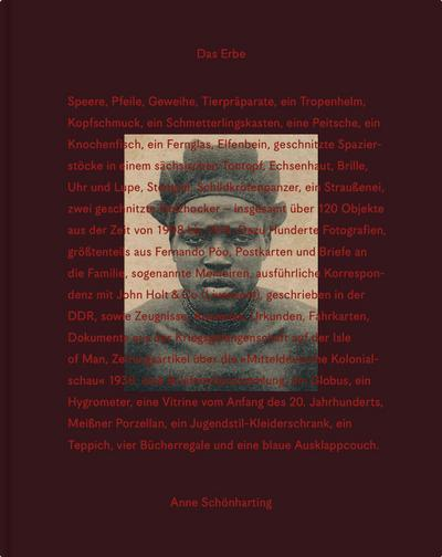 Anne Schönharting, Das Erbe/The Legacy: Albert Gouaffo