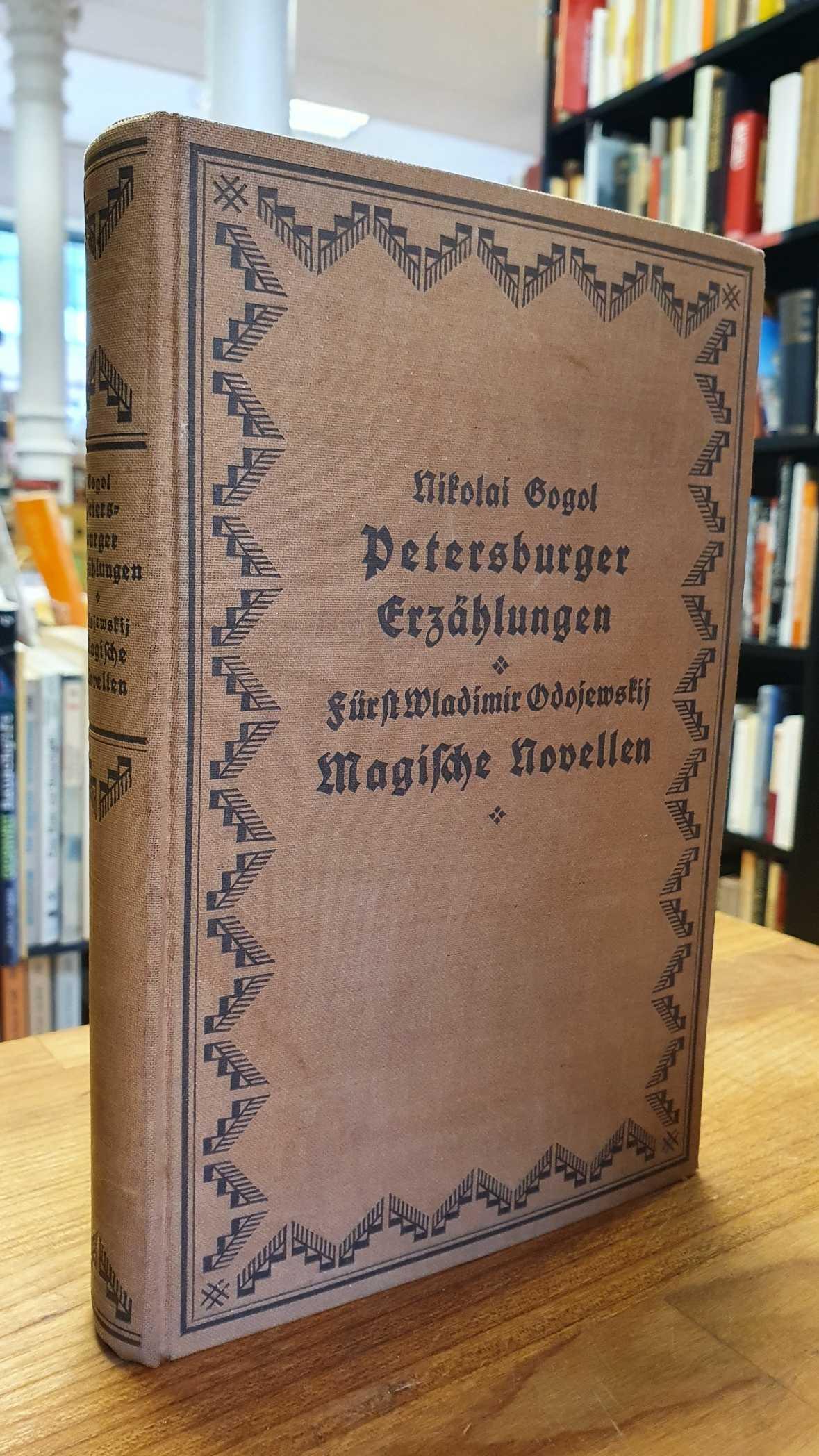 2 Werke in einem Band: Petersburger Erzählungen: Gogol, Nikolai /