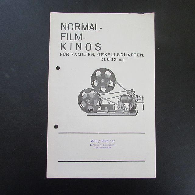 Normal-Film-Kinos - Für Famlien, Gesellschaften, Clubs etc.: Herausgeber nicht ersichtlich: