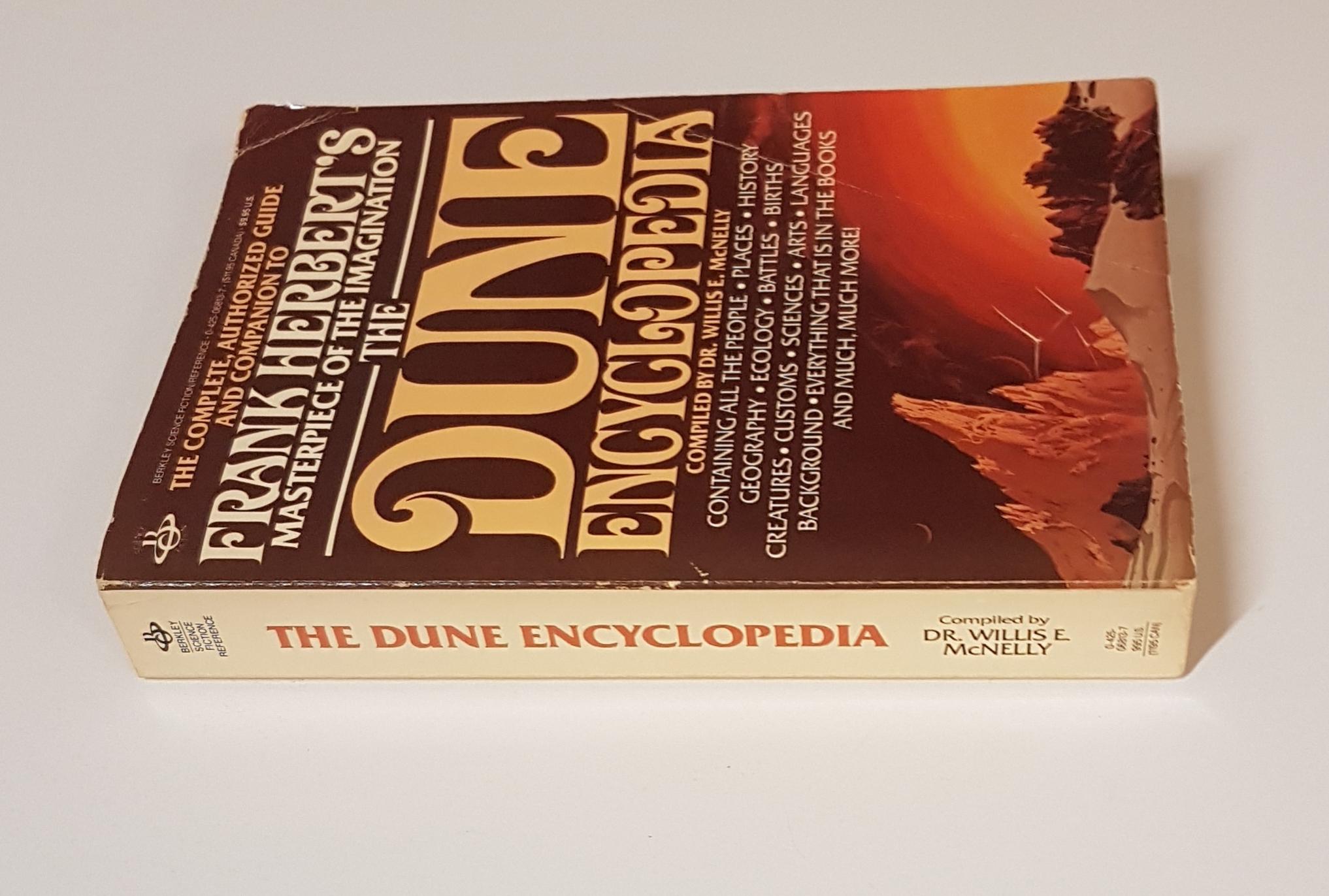 UNREAD Original 1988 Notebooks of Frank Herbert/'s DUNE Softcover Book 64 Pgs