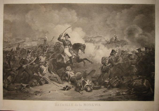 Bataille de la Moskwa. Dédié aux Armées: Konig Franz Niklaus