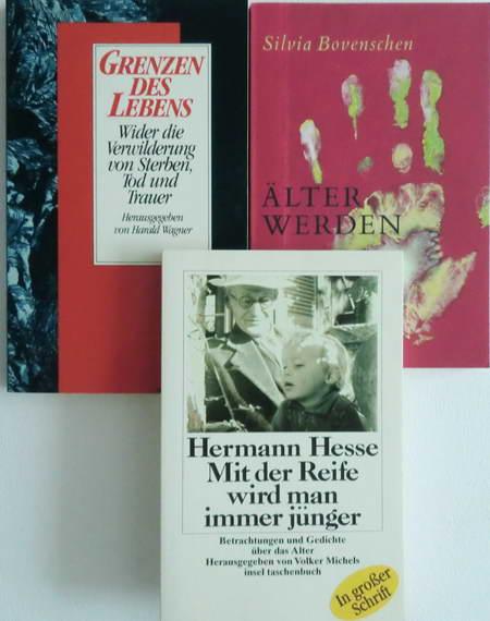 3 Bücher: Mit der Reise wird man: Hesse, Hermann /