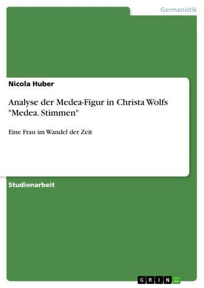 Analyse der Medea-Figur in Christa Wolfs