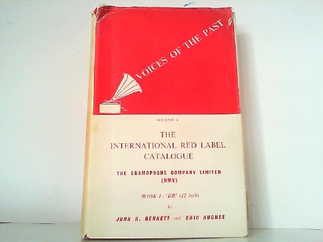 The Internation Red Label Catalogue of 'DB': Bennett, John R.: