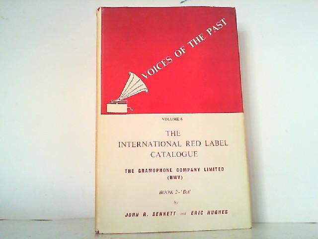 The International Red Label Catalogue of 'DB': Bennett, John R.: