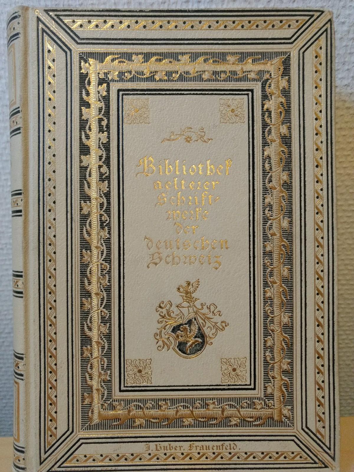 Niklaus Manuel (Bibliothek älterer Schriftwerke der deutschen: Baechtold, Jakob (Hrsg.):