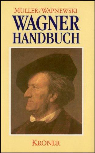 Richard-Wagner-Handbuch. hrsg. von Ulrich Müller u. Peter: Müller, Ulrich (Hrsg.):
