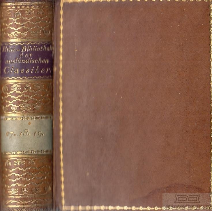Etui-Bibliothek der ausländischen Classiker No 17 /: Schumann, August /