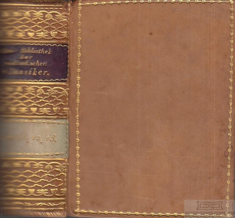 Etui-Bibliothek der ausländischen Classiker No 110 /: Schumann, August /
