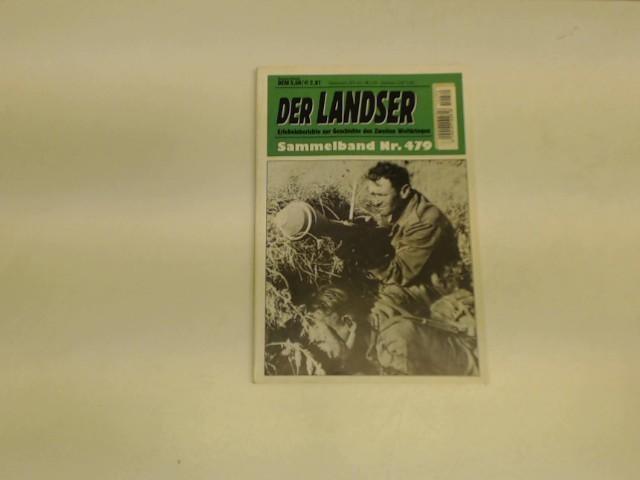 Landser Sammelband Nr. 479 (3 Hefte in: Semper, J.B., A.