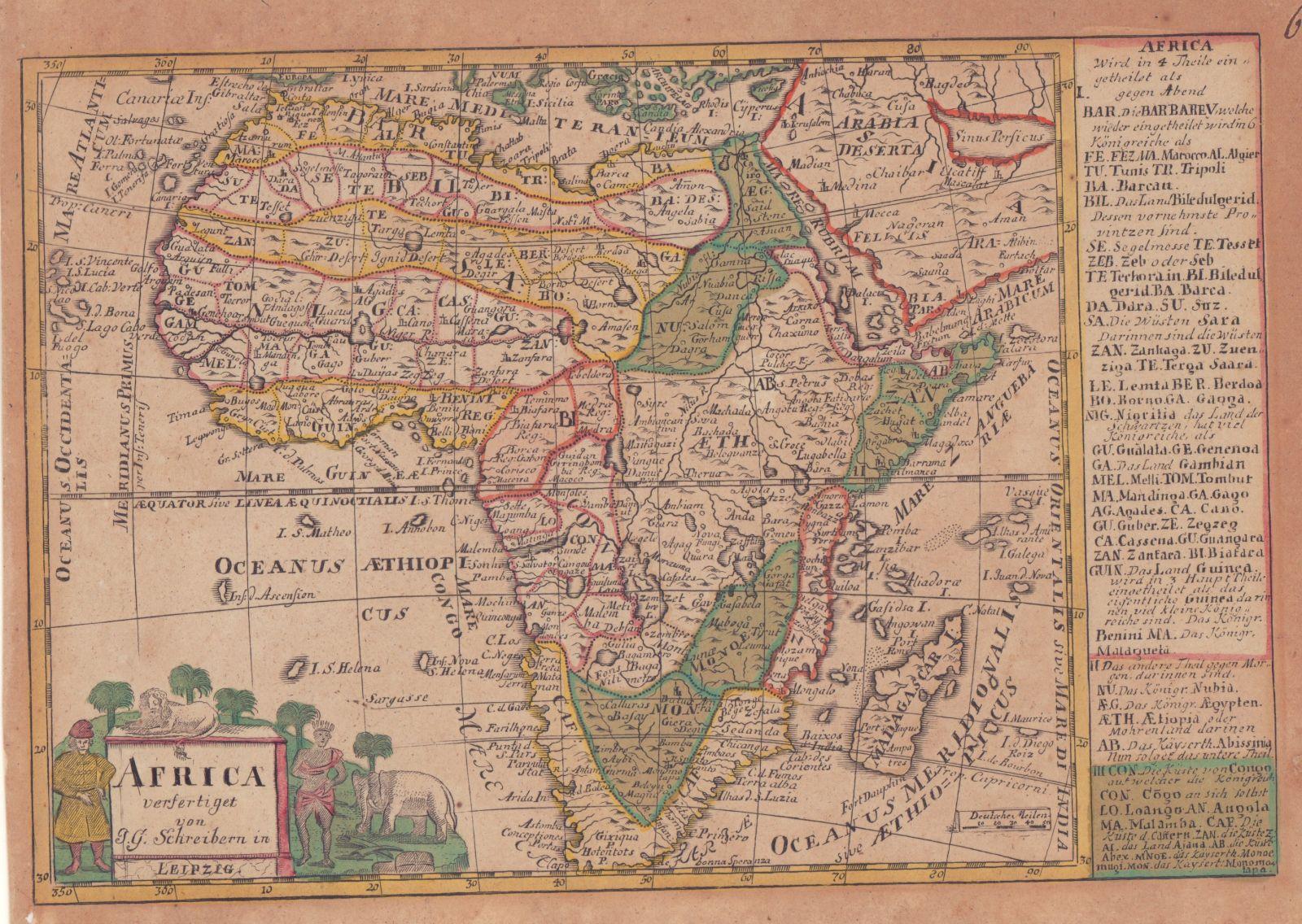 Africa. -: Schreiber, Johann C.