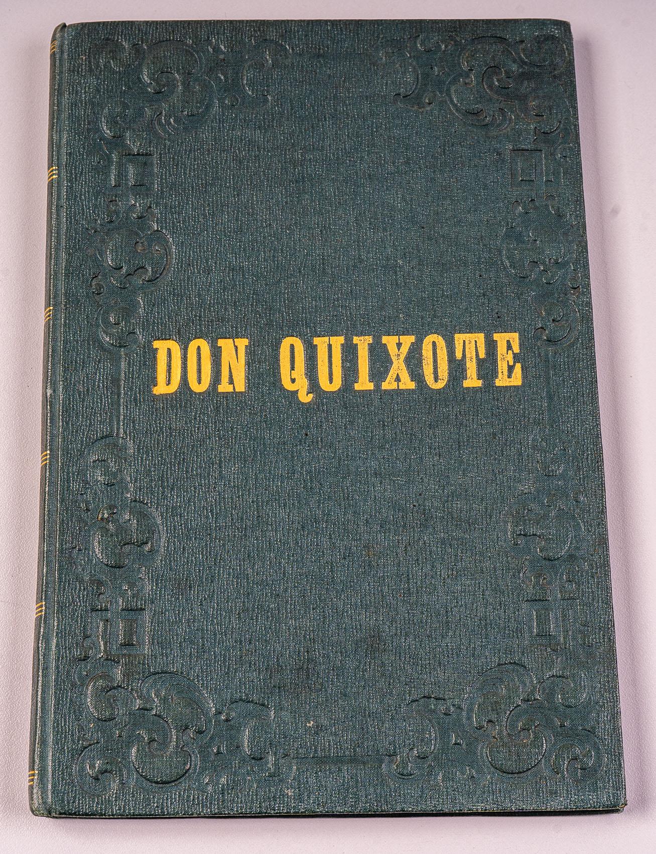 Bilder zum Don Quixote, oder: Darstellung der: Cervantes]