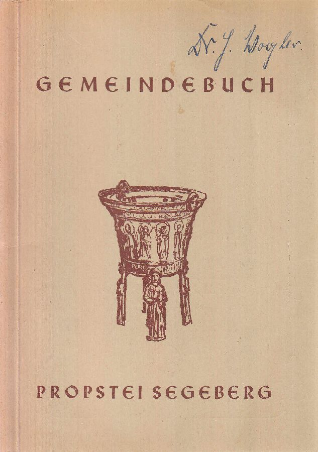 Gemeindebuch der Kirchenpropstei Segeberg. -: Jaeger, Carl Friedrich