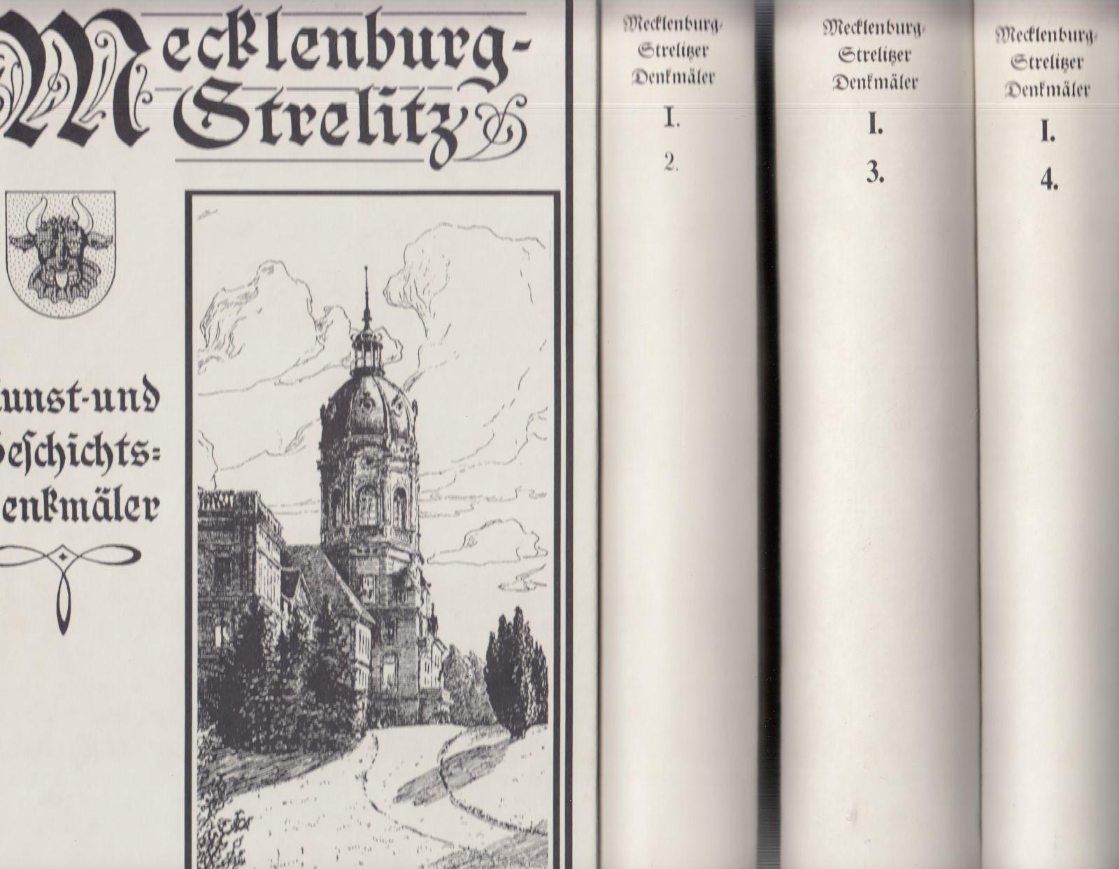 Das Land Stargard. - [4 Bände]. -: Krüger, Georg: