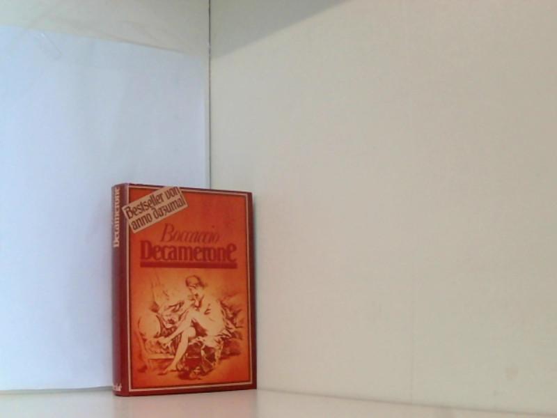 Decamerone: Boccaccio Giovanni und