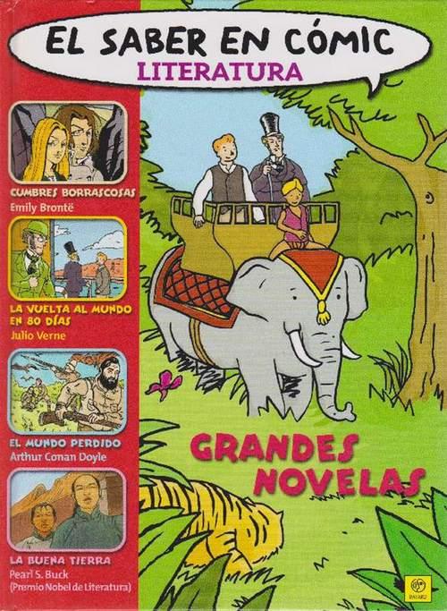 Saber en cómic, El. Literatura. Grandes Novelas. - VV.AA.