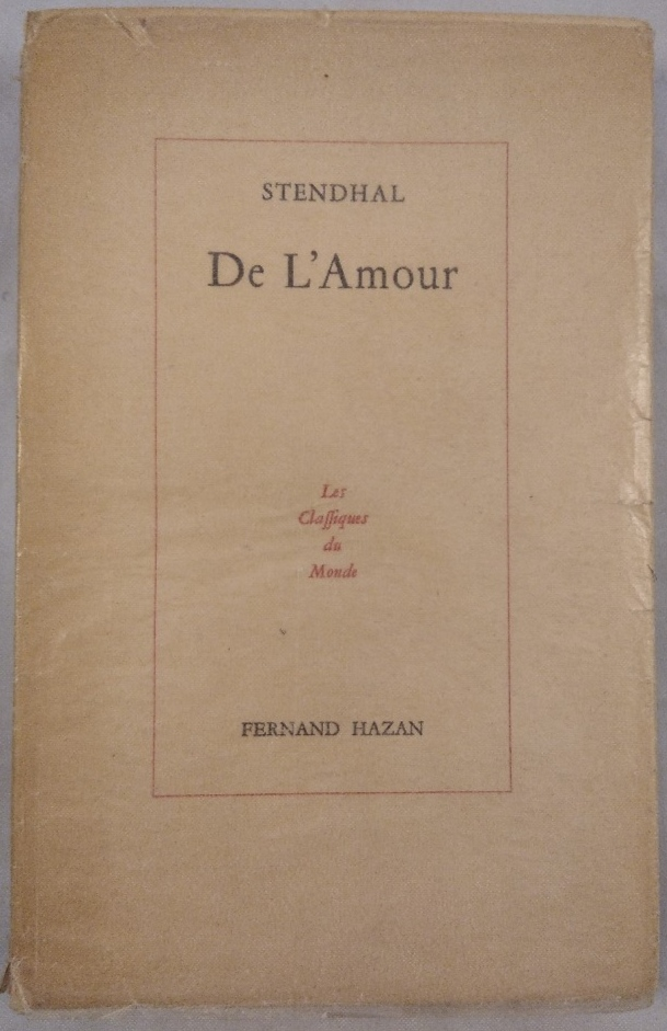 De L'Amour.: Martineau, Henri und