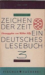 Zeichen der Zeit; Teil: Bd. 3., 1832-1880: Walther (Hg.) Killy