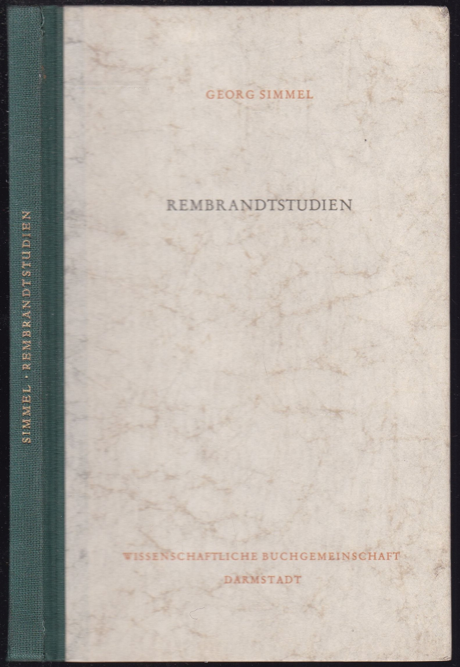 Rembrandtstudien: Simmel, Georg