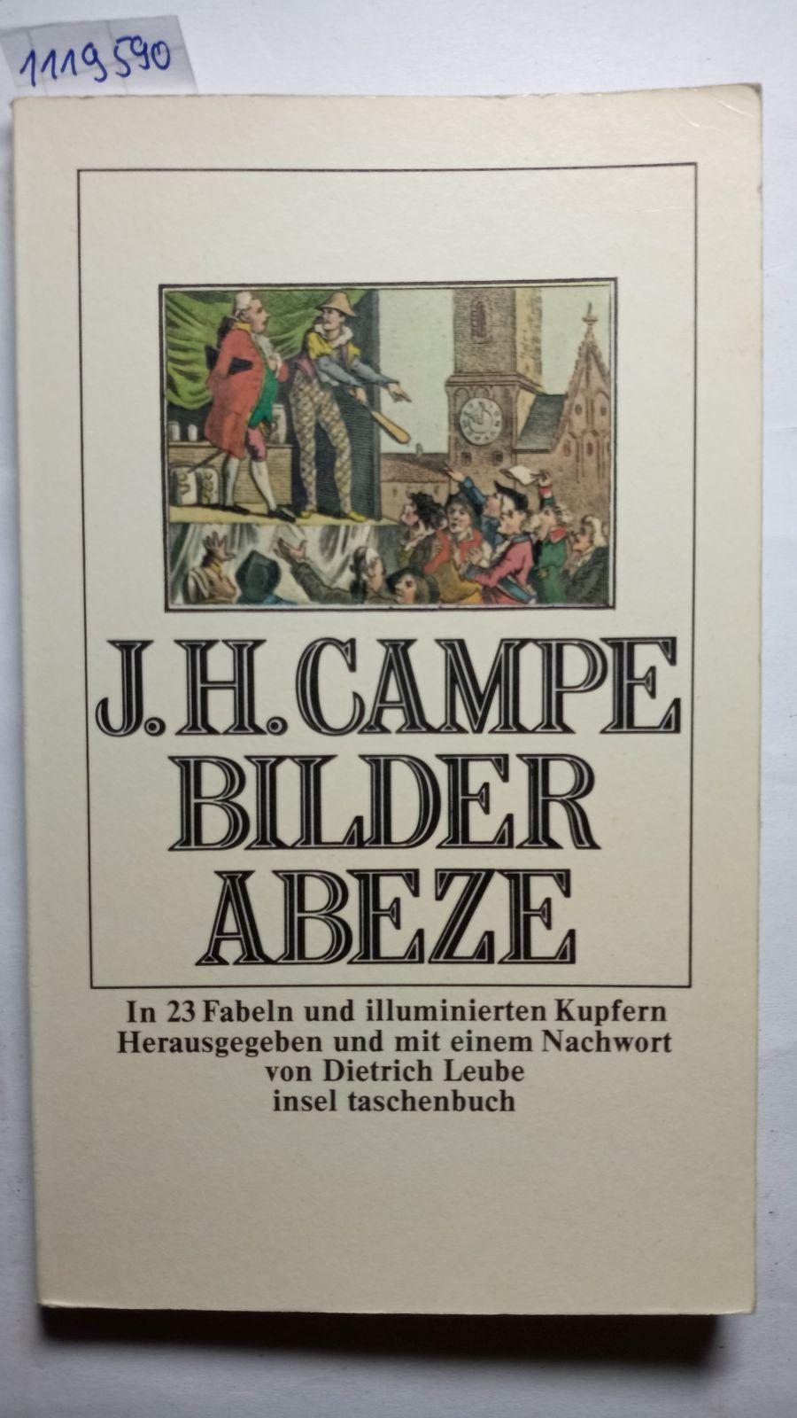 Bilder-Abeze : in 23 Fabeln und illuminierten: Joachim Heinrich Campe: