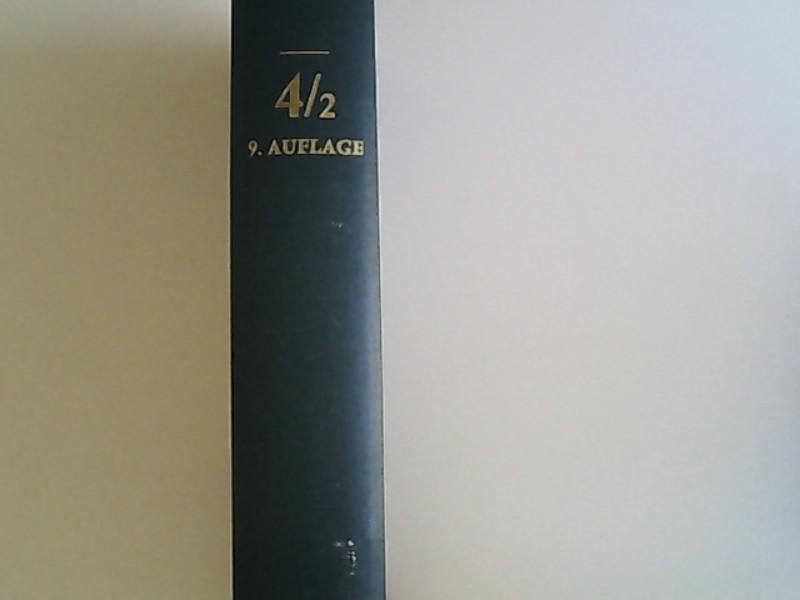 Handbuch der deutschen Geschichte Bd. 4, Teibd.: Erdmann, Karl Dietrich,