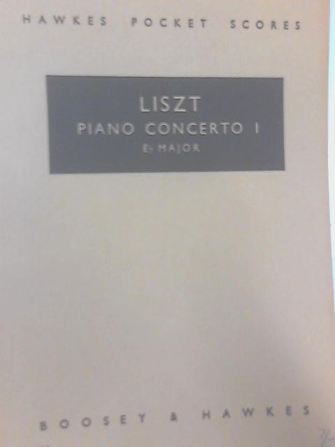 Piano Concerto I: Liszt