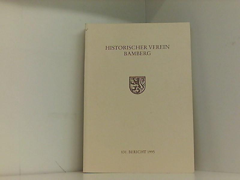 Berichte des Historischen Vereins Bamberg: Schemmel, Bernhard, Ulrich