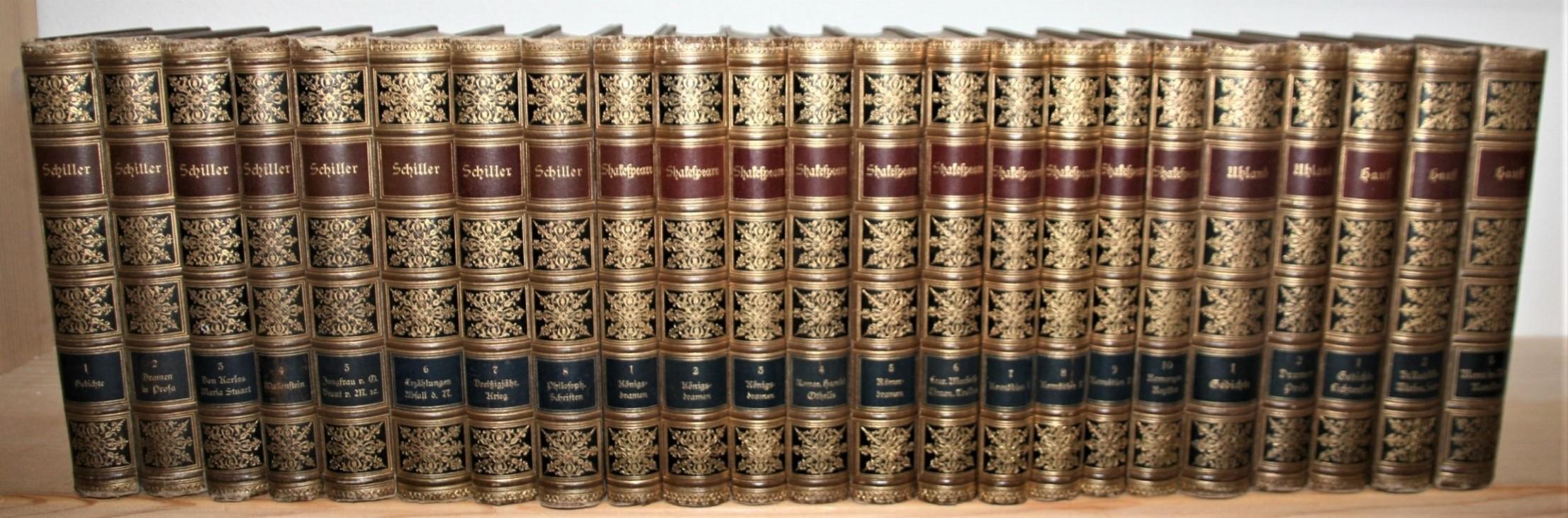 23 Bände Meyers Klassiker-Ausgaben: Shakespeares Dramatische Werke: Shakespeare, William, Friedrich