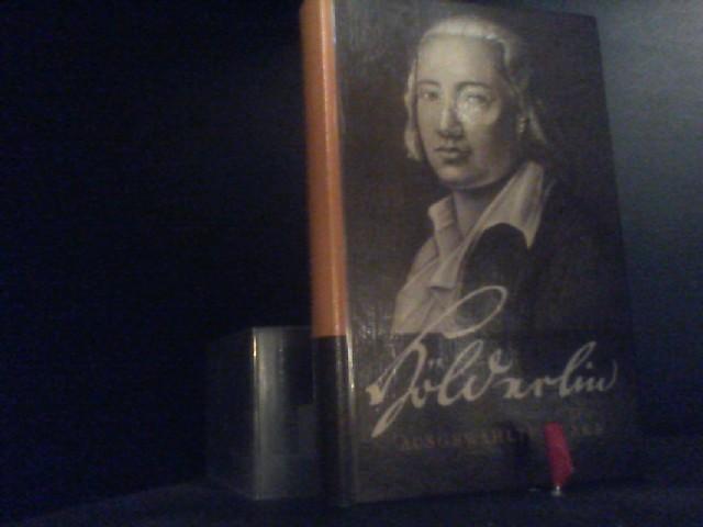 Ausgewahlte Werke.: Holderlin, Friedrich:
