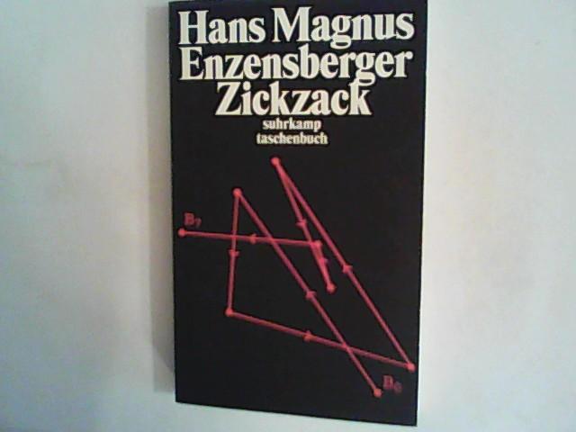 Zickzack, Aufsätze,: Enzensberger, Hans Magnus: