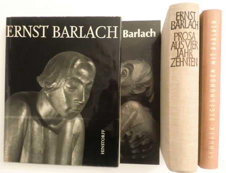 4 Bücher: Begegnungen mit Barlach / Ernst: Schurek, Paul /