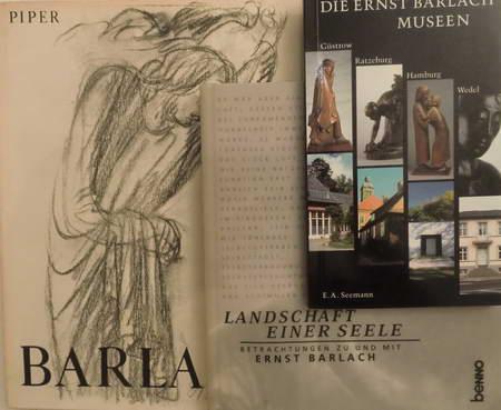 3 Bücher: Landschaft einer Seele. Betrachtungen zu: Barlach, Ernst