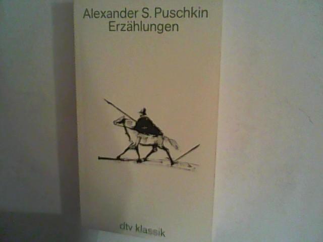 Die Erzählungen.: Puschkin, Alexander: