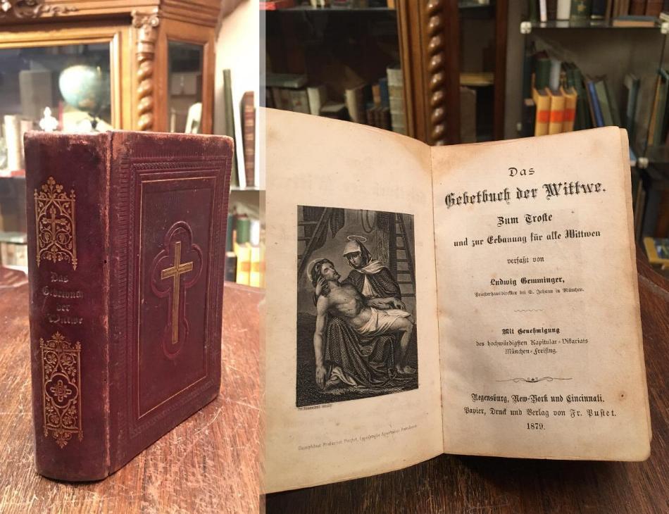 Das Gebetbuch der Wittwe : Zum Troste: Gemminger, Ludwig: