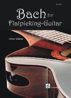 Bach for Flatpicking-Guitar - Waitze, Oliver|Bach, Johann Sebastian